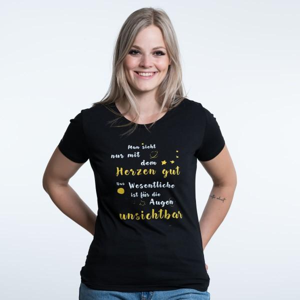 """Damen T-Shirt """"Das Wesentliche"""""""